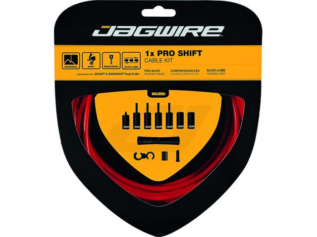 Jagwire 1X Pro Shift Schakelkabel Set, red